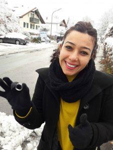 Weißgold Ehering im Schnee verloren Markus Pütterich hat den Ring wiedergefunden