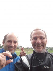 Goldring Ehering im See wiedergefunden