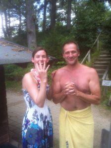 Verlobungsring beim Schwimmen verloren Auftragssucher Markus Pütterich Tauchen
