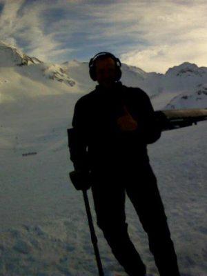 Auftragssucher Markus Pütterich Schnee Matsch Gletscher