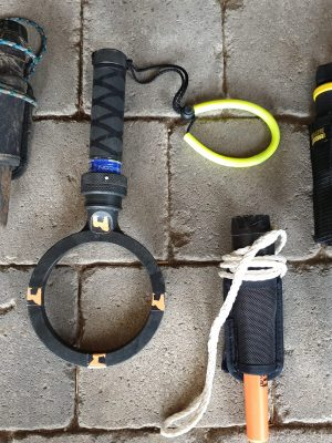 Unterwasserhand Pinpointer Handsonde PinPointer Garrett Secon Vibra-iking